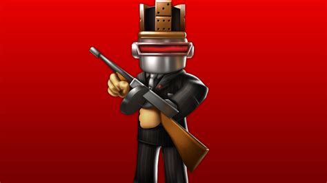 Roblox Character In Red Background HD Games Wallpapers ... - roblox wallpaper hd 4k