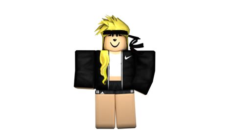 Black Girl - Roblox GFX by iiFrostMichael on DeviantArt - girl roblox pictures black