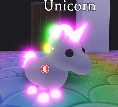 Details About Roblox Adopt Me Legendary Neon Fly Ride Giraffe - neon unicorn roblox adopt me pets wallpaper