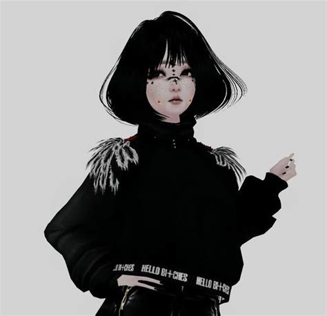 Roblox Aesthetic Icon Black Hair  404 ROBLOX - girl roblox pictures black