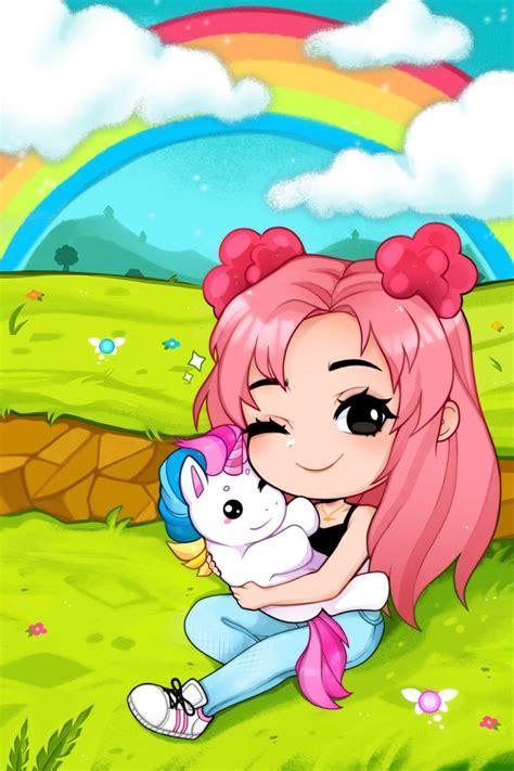 Megan plays BIGEST FAN!!💕💕 in 2020  Unicorn poster, Cute ... - unicorn adopt me unicorn roblox wallpaper girl