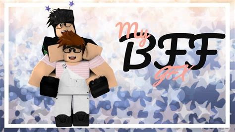 Roblox BFF Gfx // Speed Art - YouTube - bff wallpaper roblox boy and girl