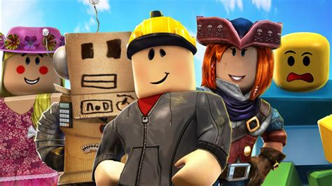 Roblox Characters In Sky Blue Background HD Games ... - roblox wallpaper 4k